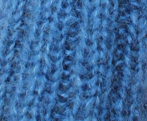 Nuage bleu denim