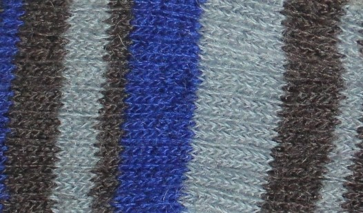 rayé gris bleu roy