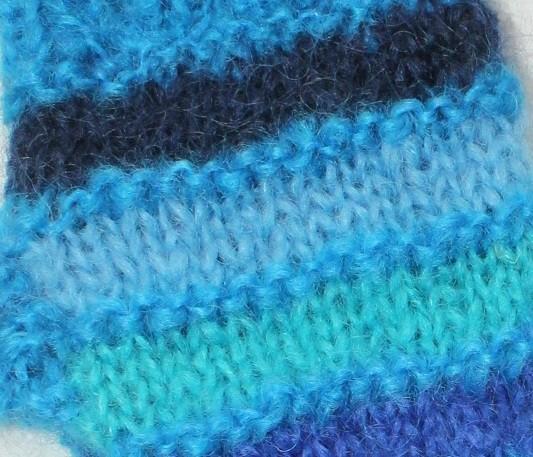 rayures bleues