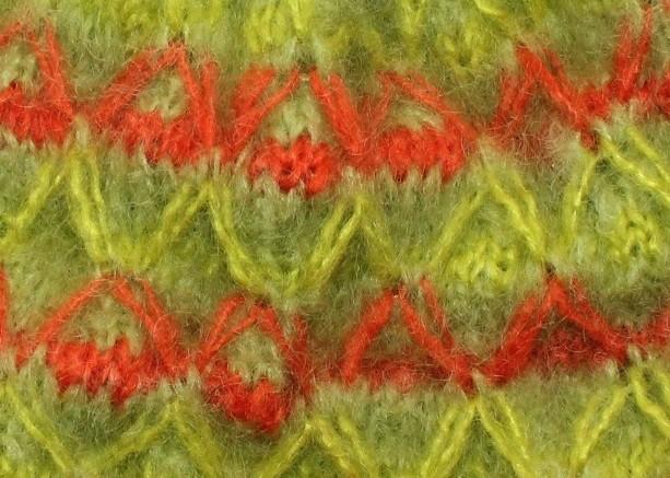 croisé anis chartreuse capucine