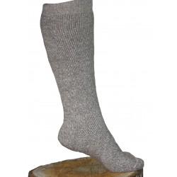Chaussettes longues en mohair et laine