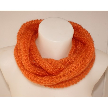 "Snood ""Attitude"" orange"
