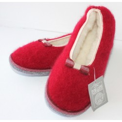 Ballerines rouges - ruban 1